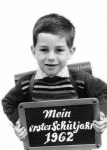Einschulung 1962